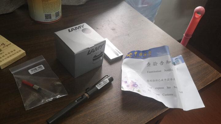 凌美(LAMY) 德国进口凌美钢笔狩猎者恒星礼盒套装墨水墨囊吸墨器 狩猎者亮黄色50周年礼盒-F笔尖 晒单图