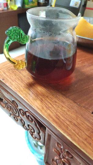 宫明茶叶 2009年冰岛古树醇香老茶头 熟普洱散茶500克 云南普洱熟茶礼盒装 晒单图