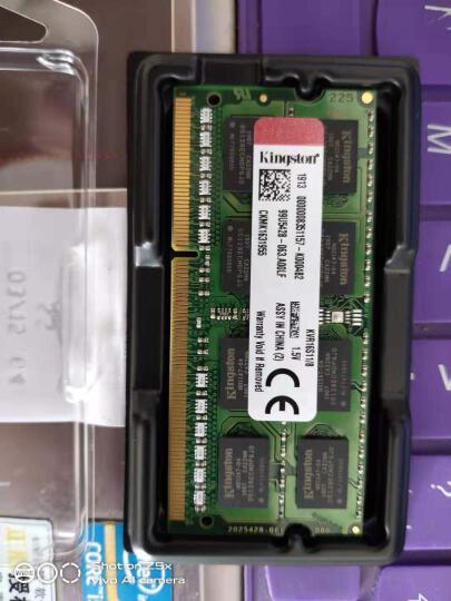 金士顿(Kingston) DDR3 1600 8GB 笔记本内存 晒单图
