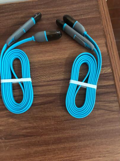 幻响(i-mu)苹果/安卓二合一数据线多用途翻转线iphone6s/7Plus/8/XS Max 华为p30小米手机充电器线 1米 蓝 晒单图