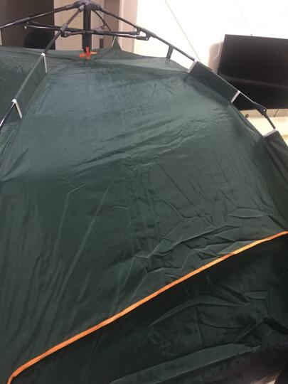 自由之舟骆驼 帐篷户外3-4人野营全自动双人多人露营帐篷套装 双人超厚套餐 晒单图