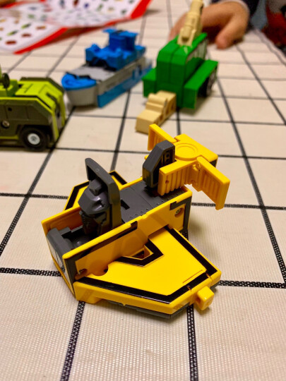 新乐新 古迪积木 变形机器人8712恐龙金刚 儿童积木玩具 男孩拼装玩具 益智拼装积木 晒单图