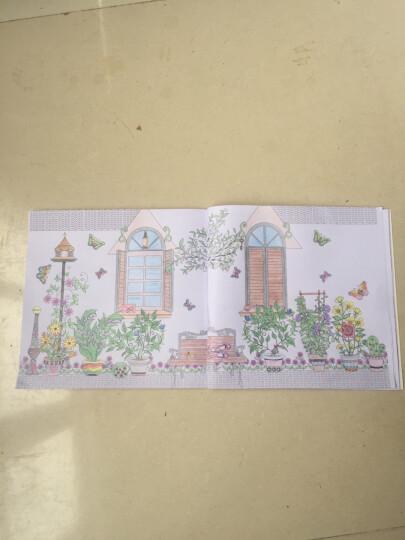 4册 神秘花园 正版 填色书 手绘涂色书 创意涂鸦填色 秘密花园 涂色书 彩铅画 晒单图