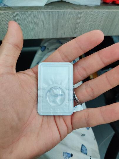 海昌 H2O系列 原装进口半年隐形眼镜 透明隐形眼镜 半年抛 2片装 375度 晒单图