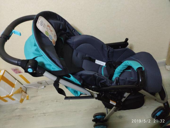 葛莱 GRACO婴儿推车 轻盈系列 超轻便捷 可躺可座 折叠避震伞车 6Y92天蓝色 晒单图