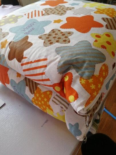 迎馨 床品家纺 全棉多功能汽车抱枕靠垫被 空调夏凉两用被 LOVE猫-45*45cm 晒单图