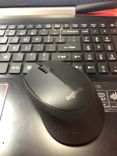 罗技(Logitech)M280(M275) 鼠标 无线鼠标 办公鼠标 右手鼠标 黑色 自营 带无线2.4G接收器 晒单图