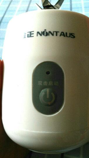 金正(NINTAUS) 榨汁机家用 迷你榨汁杯原汁机 便携式充电果汁机 S21白色双杯 晒单图
