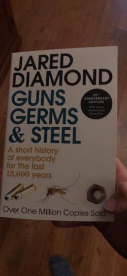 枪炮.病菌与钢铁 Diamond 英文原版 Guns, Germs  Steel 晒单图
