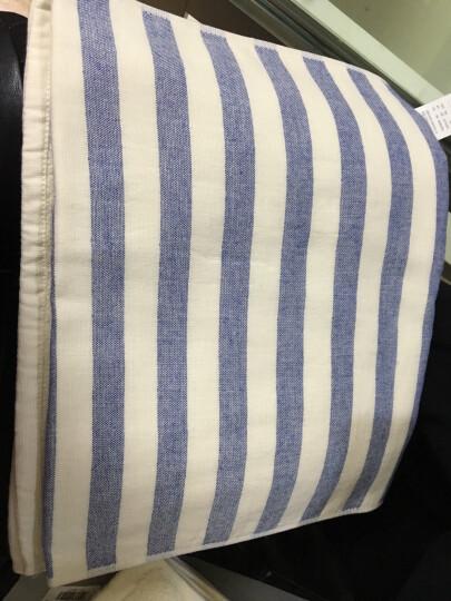 佳佰毛巾两条礼袋套装全棉精梳棉加厚吸水速干英格兰风情(红、蓝各一条) 晒单图