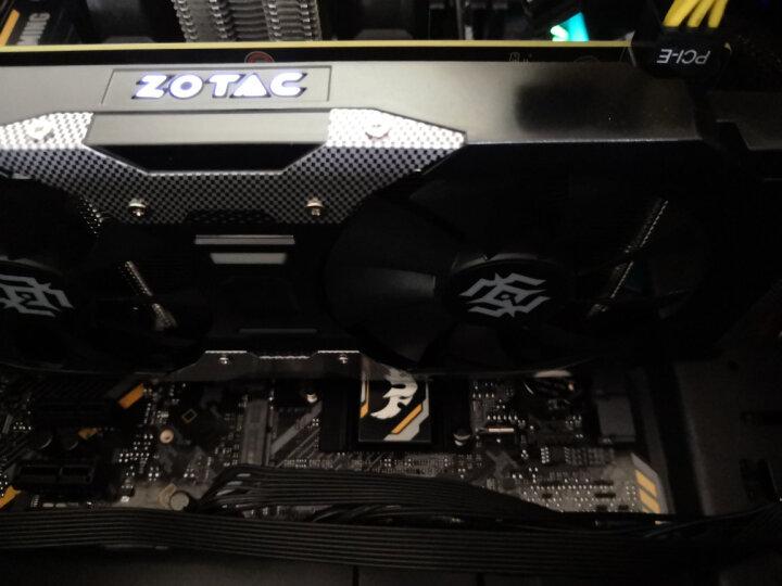索泰(ZOTAC)GTX1050Ti X-GAMING OC显卡自营/台式机游戏吃鸡独立显卡4GD5/1354-1468/7008MHz 晒单图