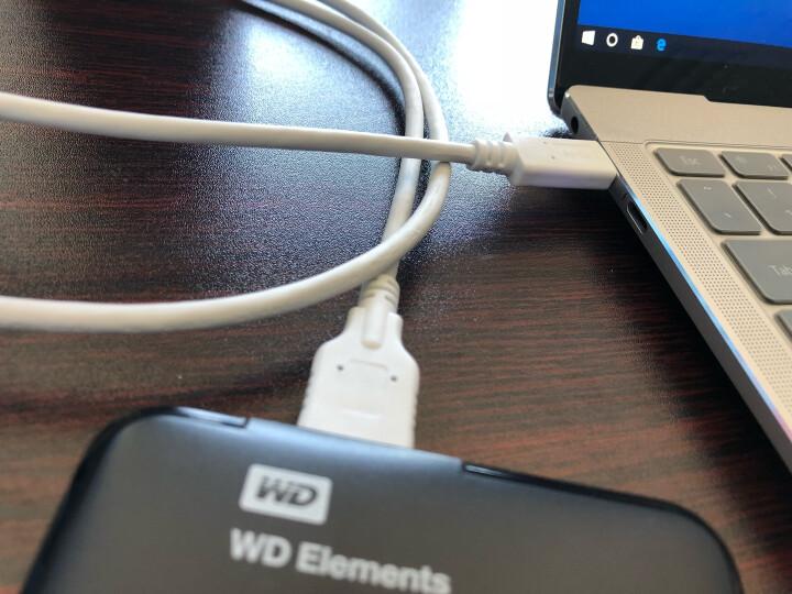 幸福家园 USB3.0数据线日立东芝WD西数希捷联想移动硬盘线充电白 安卓手机小米荣耀华为三星2条 晒单图