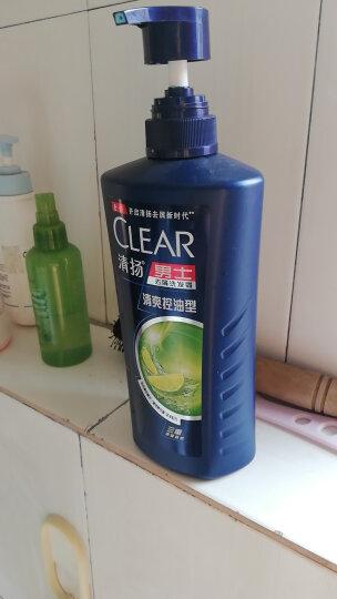 清扬(CLEAR)无硅油洗发水 男士去屑洗发露海藻菁萃型750g (新老包装随机发)(氨基酸洗发) 晒单图