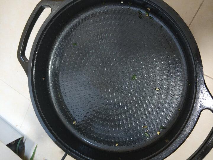 利仁(Liven)多功能电煎锅 煎烤盘JG-J3500(陶瓷釉涂层) 晒单图