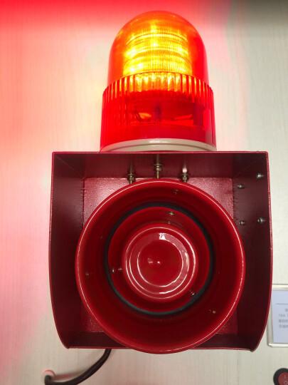 杭亚 YS-01H工业语音声光报警器一体化大分贝喇叭高级电子蜂鸣器起重机行车厂房室外报警器喇叭 DC12V 晒单图