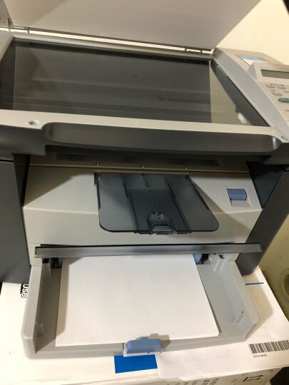 惠普(HP)打印机M1005A4黑白激光打印复印扫描多功能一体机用2612a硒鼓 晒单图