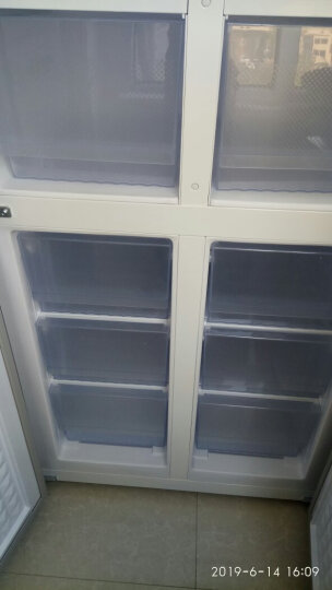康佳(KONKA)458升 十字对开双开门冰箱 电脑温控 静音保鲜 玻璃面板 超薄机身 BCD-458EBX4S 晒单图