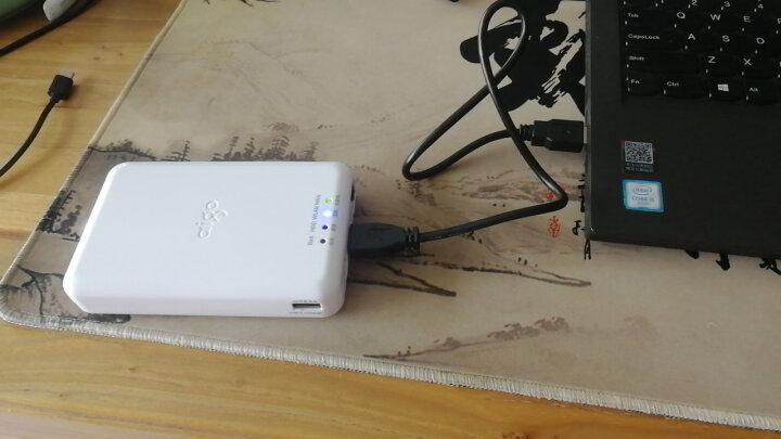 爱国者(aigo)1TB USB3.0 移动硬盘 PB726S 白色 多功能无线移动硬盘 无线路由器 移动电源 晒单图