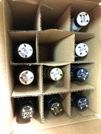 1664啤酒 法国进口啤酒 克伦堡凯旋系列 果味 精酿啤酒 1664玫瑰百香果金复古黄啤随机组合12瓶装 晒单图