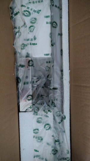 雷士(NVC)LED镜前灯 浴室防水防雾壁灯化妆灯卫生间壁灯 9W 白光6500K EMB9001 晒单图