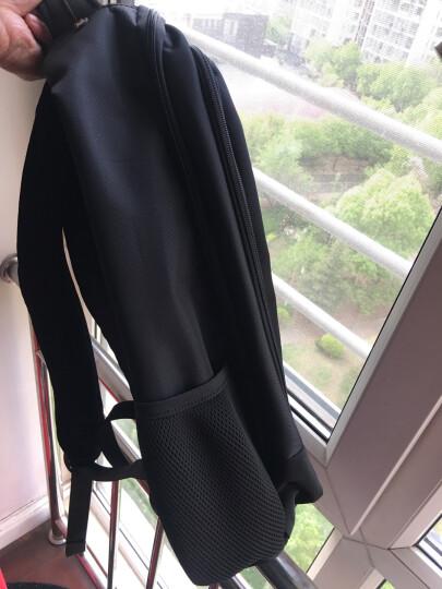 七匹狼(SEPTWOLVES)双肩包男休闲背包新品大学生书包笔记本商务电脑包旅行包 三层仓加大码可放17英寸电脑 晒单图