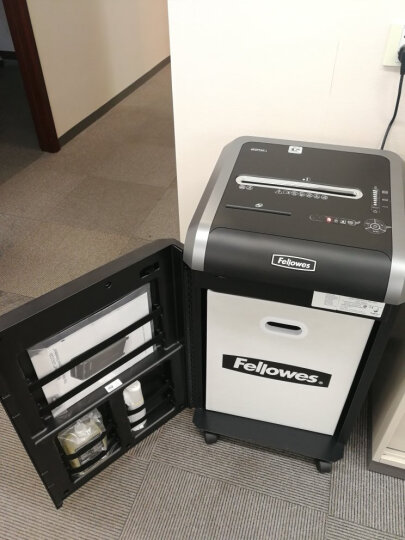 范罗士(Fellowes)225Mi 大型商用办公碎纸机(61L大容量德标5级保密粒状/单次碎纸14张) 晒单图