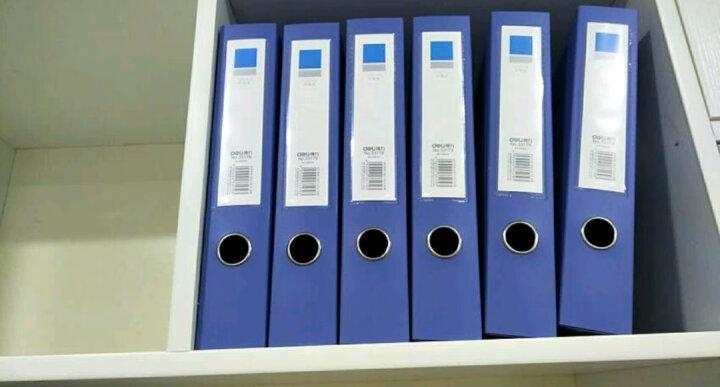得力(deli)10只A5.5网格拉链文件袋 票据袋资料收纳袋 单色随机5657 晒单图