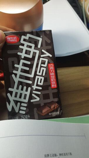 维他奶 巧克力味豆奶植物蛋白饮料250ml*24盒 整箱装 晒单图