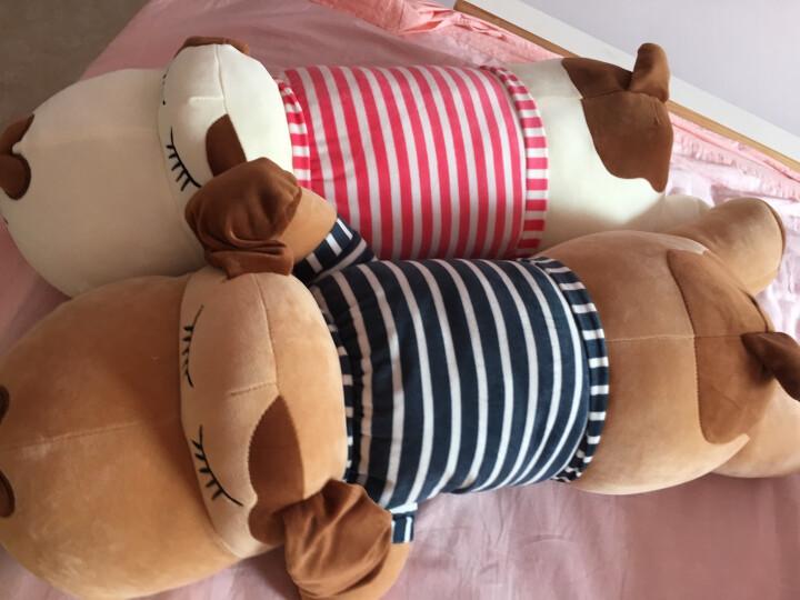 爱尚熊毛绒玩具娃娃抱枕北极熊大号长条抱枕公仔玩偶布娃娃女孩睡觉抱枕靠垫七夕情人节生日礼物送女生70cm 晒单图