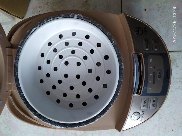 美的(Midea)电饭煲电饭锅5L大容量智能预约黄晶内胆家用电饭煲MB-WRD5031A 晒单图