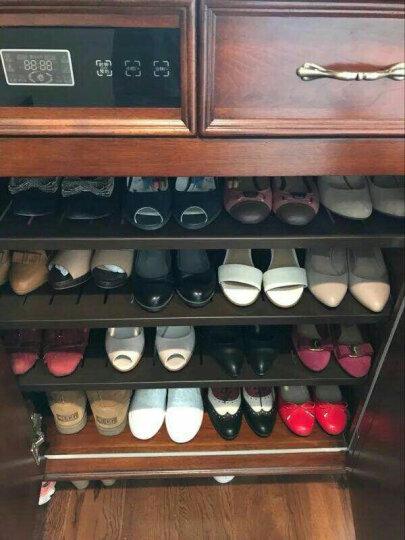 格澜帝尔鞋柜美式实木智能电子消毒鞋柜收纳柜门厅柜木质鞋柜 三门 电子 晒单图
