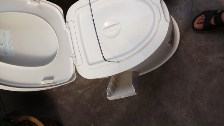 日本爱丽思(IRIS) 便携式老人坐便器 孕妇移动马桶  病人护理坐便椅 TP-420V 晒单图