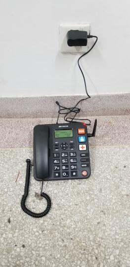盈信(YINGXIN)插卡电话机 移动固话 家用办公座机 大音量 老人电话 6型GSM移动版黑色 晒单图
