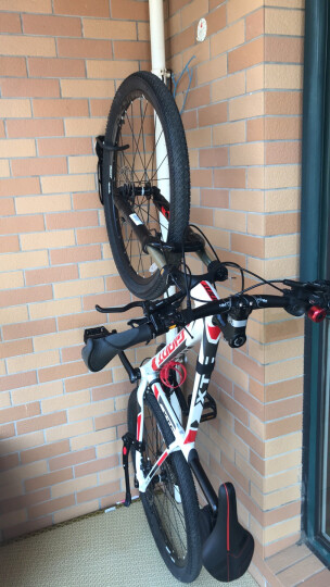 博沃尼克 自行车墙壁挂钩 停车架 挂壁式自行车挂架 山地车展示架加厚 固定型 晒单图