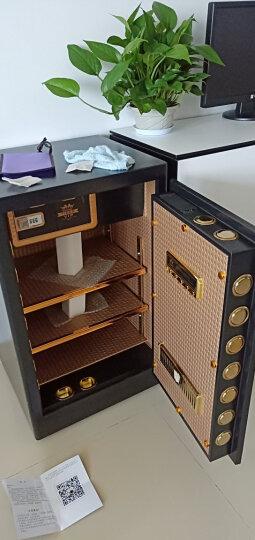虎牌保险柜办公家用保险箱单双门60 70 80 1米1.2米1.5米大型指纹全钢入墙 致尚系列 1米高     三色可选 晒单图