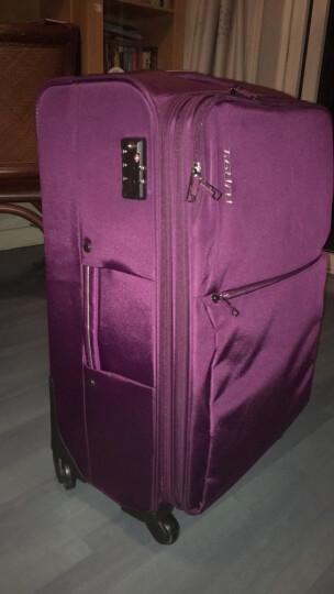 旅行大师进口尼龙TSA海关锁万向轮拉杆箱登机箱 男女密码锁旅行箱行李箱T1059 蓝色 22英寸小型托运 晒单图