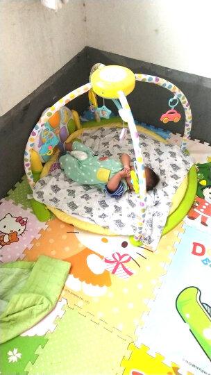 谷雨婴儿音乐床铃星空投影脚踏钢琴健身架  新生儿0-3个月多功能游戏毯早教益智玩具6-12个月 两充充电套装+螺丝刀(赠品勿拍) 晒单图