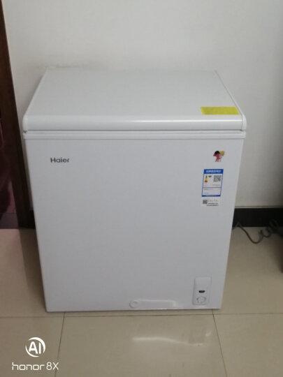 海尔(Haier) 142升家用冰柜 冷藏冷冻转换柜 冷柜 节能单温冰箱 BC/BD-142HT 晒单图