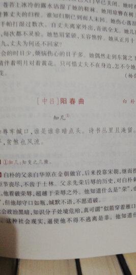 元曲三百首鉴赏辞典 晒单图