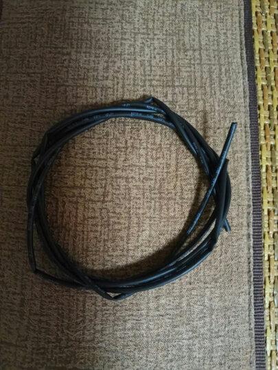 TaoTimeClub 热缩管 绝缘套管 黑色  直径:0.6/0.8/1/2-6/10-20mm 1mm   1米 晒单图