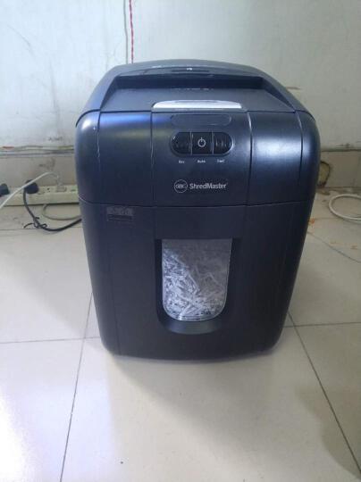 GBC杰必喜 智能全自动碎纸机 单次放纸130张 中小型商务办公多功能粉纸机AUTO+130X 晒单图