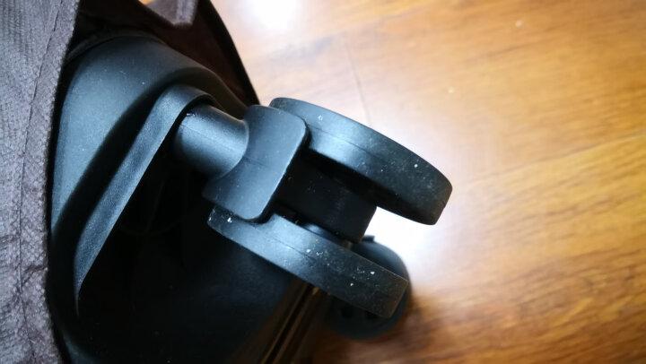 【一体化铝框 12万好评】EAZZ铝框拉杆箱万向轮行李箱男女士登机箱20寸24寸28寸旅行箱26定制 拉链-蓝色 20英寸-登机箱(热卖) 晒单图