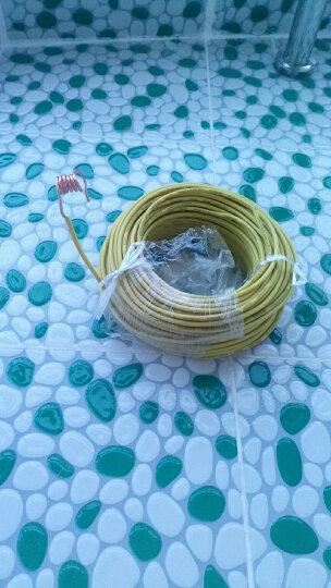 YODA 永达 国标BV4平方50米/纯铜芯单芯硬线/热水器线立式空调线安全家装电线 黄色50米 国标BV4硬线 晒单图
