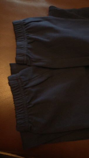 铅笔俱乐部童装女童运动裤男童中大童休闲长裤儿童裤子潮 粉红 150cm 晒单图