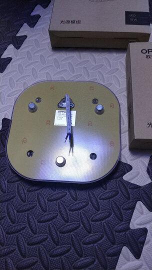 欧普照明led灯板 一体化日光灯盘 超亮节能灯管全套改造光管 (1只装)*6瓦*适用底盘直径≥16厘米 晒单图