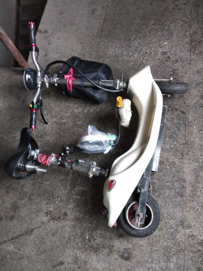 小小海豚 冰岚电动车电动滑板车配件 皮带 HTD535-5M 皮带 晒单图