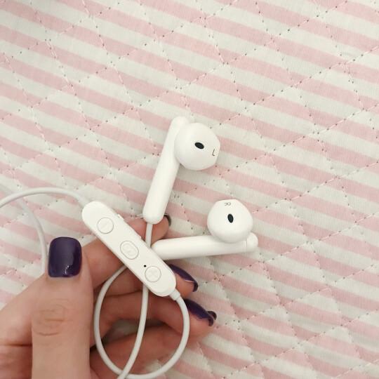 【停用】兰士顿 L5运动蓝牙耳机双耳无线跑步耳塞式金属磁吸通用苹果x华为小米重低音炮耳塞 黑色 晒单图
