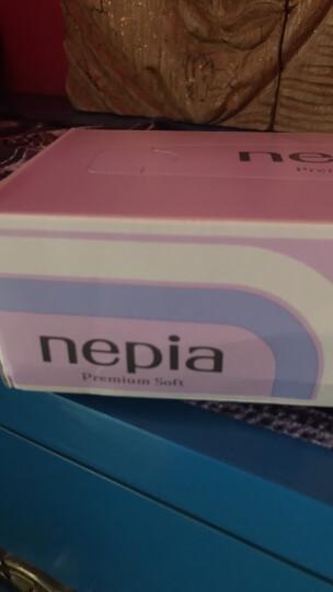 妮飘(nepia)premium sof t精选柔滑 盒装面巾纸180抽*5盒(日本原装进口) 晒单图