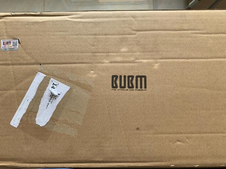 BUBM TSB-C耳机包防水防摔收纳盒充电数据线收纳包读卡器U盘蓝牙耳机包 宝蓝 晒单图