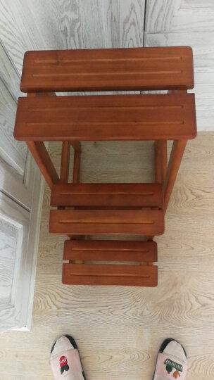 施豪特斯(SHTS) 凳子 实木吧台椅子高低凳子换鞋凳楼梯凳STC-3 蜜糖色 晒单图